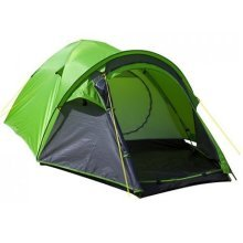 Summit 4 Man Tent - H-halt Pinnacle Skin Dome Tent - Green -  tent summit hhalt pinnacle skin 4 dome double person camping hiking ourdoors man green