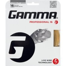 Gamma Live Wire Professional 16G Tennis String, Natural