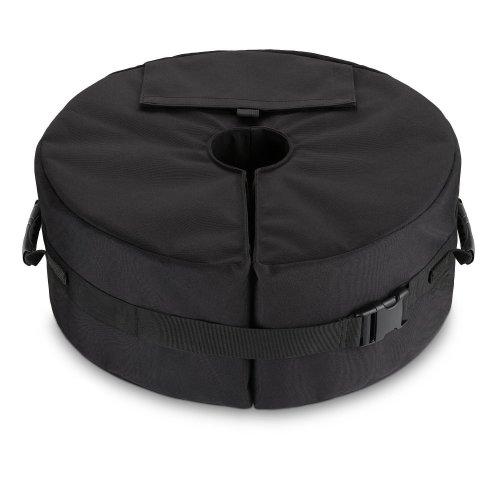Ardermu Patio Beach Round Umbrella Base Weight Bag - Tent Base Weight Bag Canopy Sand Ergonomic Stand Add On Weight All Outdoor Patio Umbrellas...