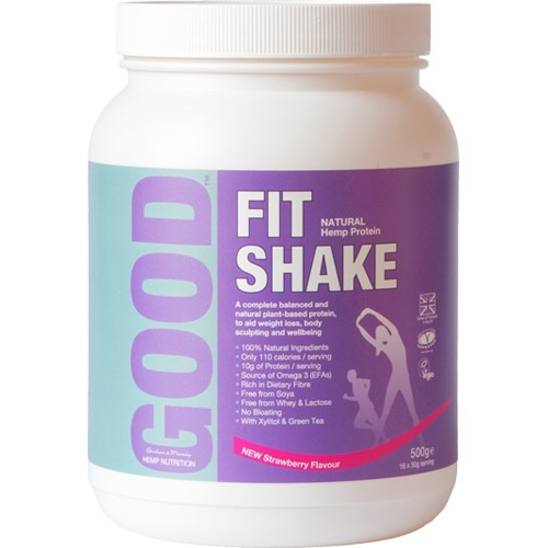 Good Good Fit Shake Strawberry 500g
