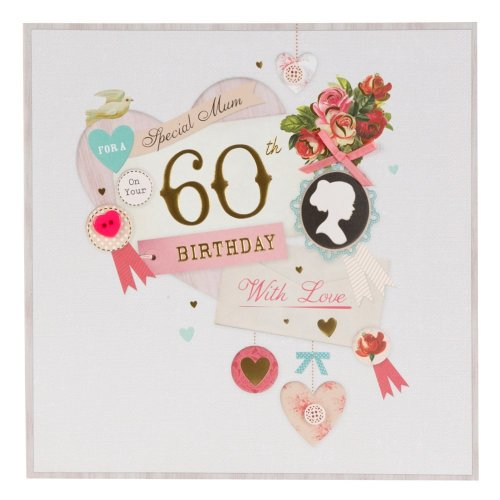 Hallmark 60th Birthday Card For Mum Something To Celebrate