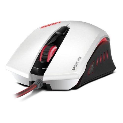 Speedlink Ledos Optical Sensor Gaming Mouse - White (SL-6393-WE)