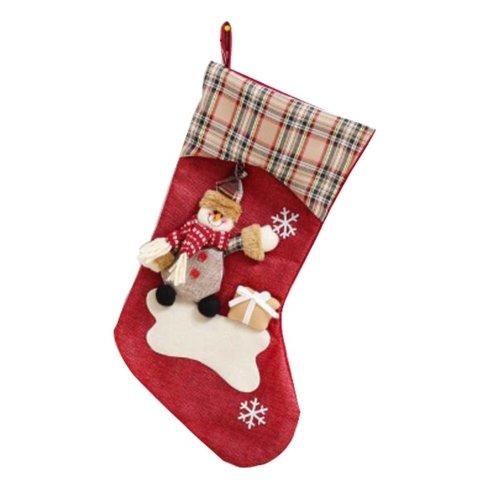 Lovely Funny Children's Christmas Stocking Big Gift Bag- Santa Claus