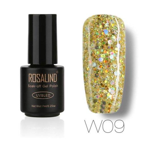 ROSALIND new fashion 7ML Gel Nail Polish Nail Art Nail Gel Polish UV LED Gel Polish Semi Permanent Varnish best seller#30