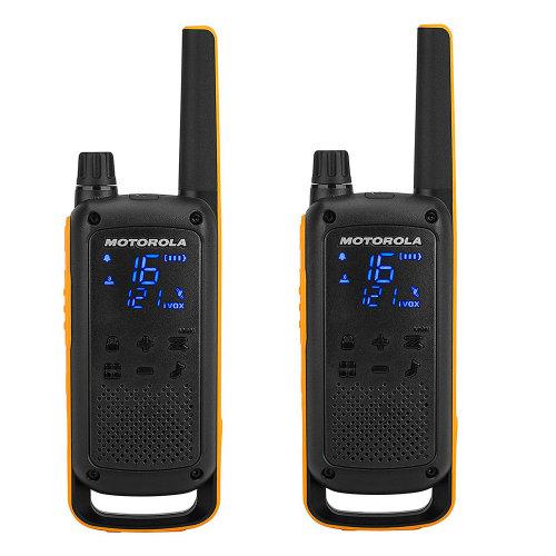 Portable PMR radio station Motorola TALKABOUT T82 Extreme set with 2 pcs