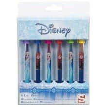 Frozen Gel Pens - 6 Items