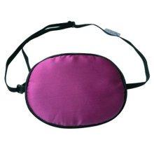 Adult Kids Amblyopia Strabismus Lazy Eye Adjustable Soft Pirate Eye Patch Single Eye Mask (Adult) ,f