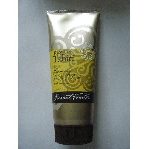 Passport Tahiti COCONUT VANILLE Vanilla Foaming Body Polish with Tamanoi from Ba