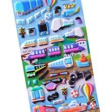 [Multicolor-1]5 Sheets Funny Cartoon Stickers Children Decorative Toys