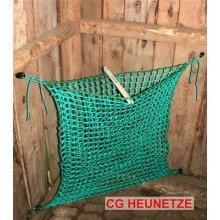 CG hay net closed-mesh S <li>4.5cm mesh size <li>1 m hight x 0.90 m large <li>incl. opening- and closingsystem