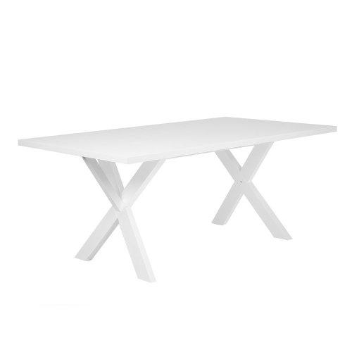 Dining Table 180 x 100 cm White LISALA
