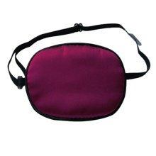 Adult Kids Amblyopia Strabismus Lazy Eye Adjustable Soft Pirate Eye Patch Single Eye Mask (Adult) ,e
