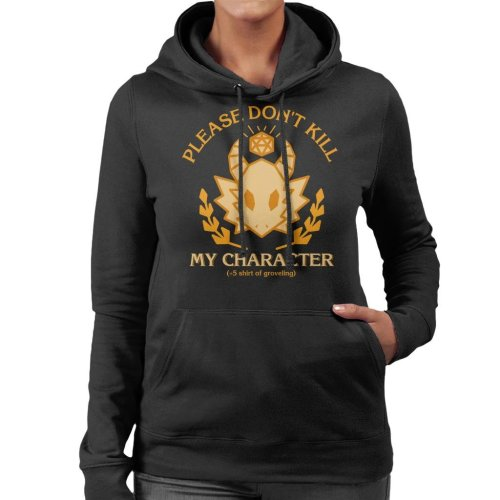 Dungeons And Dragons Grovelling Shirt Women's Hooded Sweatshirt
