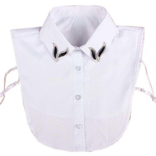 Sweet Detachable Collar False Collars Women's Fake Half Shirt for Sweater, # 05