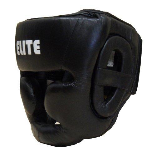 Amber Elite Fight Gear Full Face Headgear Regular