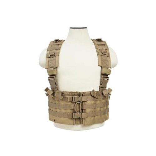 NcStar CVARCR2922T Ar Chest Rig-Tan