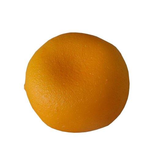Set of 4 Realistic Artificial Kitchen Table Decoration Fruit Orange 3.1''