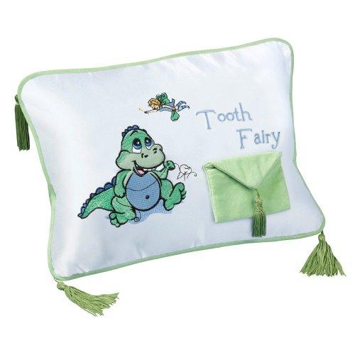 Dinosaur Tooth Fairy Cushion