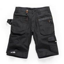 Scruffs Ripstop Trade Cargo Black Work Shorts