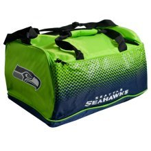 Nfl Seattle Seahawks Fade Holdall Bag -