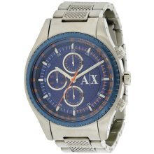 Armani Exchange Stainless Steel Chronograph Mens Watch AX1607
