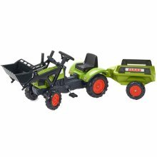 FALK Ride-on Tractor Set Claas Arion 410 Green 2040M