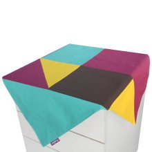 Creative Canvas Cabinet Dust-proof Cloth Refrigerator Dust Cover Tablecloth