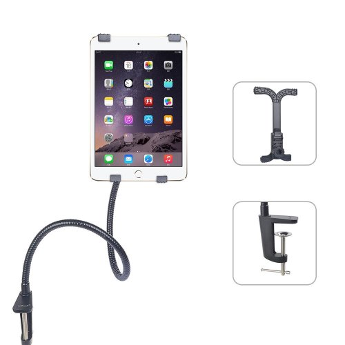 iPad Stand Tablet Gooseneck Holder Mount - ieGeek 360 Degree Rotation Flexible