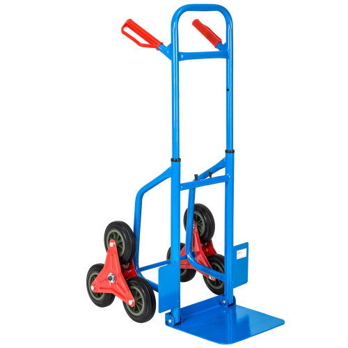 Stair-climbing hand truck up to 100kg