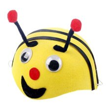 Set of 2 [Adorable Bee] Kids Party Favors Funny Party Hats Kids Toys(15.7'')