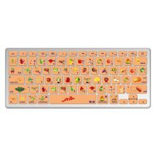"1 Piece MacBook Pro 13"" Keyboard Sticker Decal Keyboard Skin Style A"