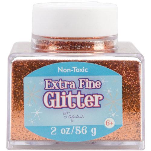 Extra Fine Glitter 2oz-Topaz