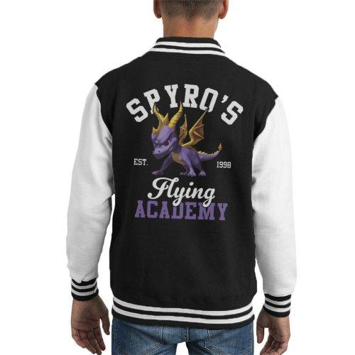 Spyros Flying Academy Kid's Varsity Jacket