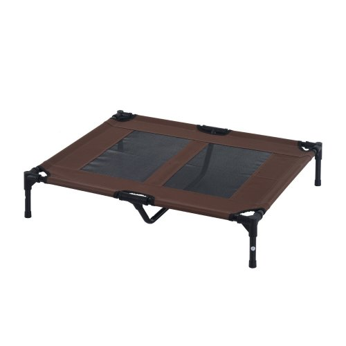 PawHut Large Elevated Dog Bed With Mesh | Large Raised Dog Bed
