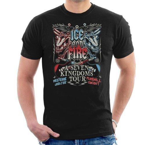 Game Of Thrones Fest Seven Kingdoms Tour Men's T-Shirt