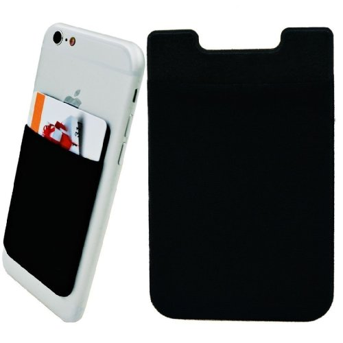 Cell Phone Card Holder >> Zhaoco 2 Pack Ultra Slim Lycra Cell Phone Card Holder Sticker Firmly