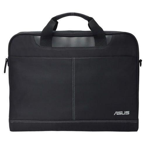 """Asus NEREUS 16"""" Laptop Carry Case, Removable Strap, Black"""