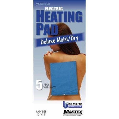 Bilt-Rite Mastex Health 600 Standard Moist & Dry Heat Pad - 3 Year Warranty
