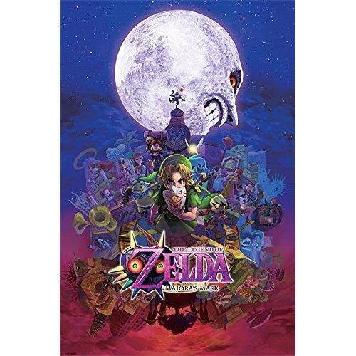 The Legend Of Zelda (majora's Mask) - Majoras Mask Poster 61x915cm 91cm -  legend zelda majoras mask poster 61x915cm 91cm official licensed new