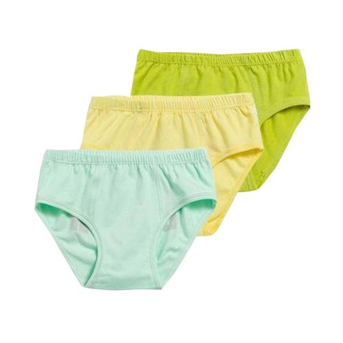 Pack of 3 Cotton Children's Underwear/Brief Stretch Cotton Panties