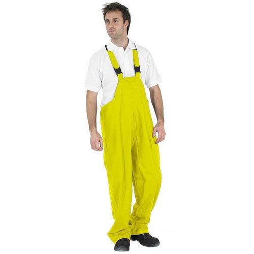 Click SBDBBSYL Weatherproof Bib and Brace Yellow Large