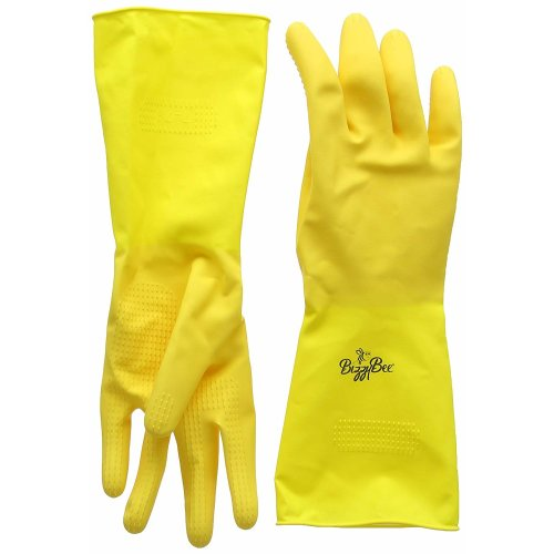 Bizzybee Longer Lasting Household Rubber Gloves