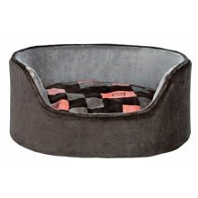 Trixie Currito Dog Bed, 70 x 55 Cm, Taupe/grey - Bed Greysalmon Various Sizes -  trixie dog bed currito greysalmon various sizes new