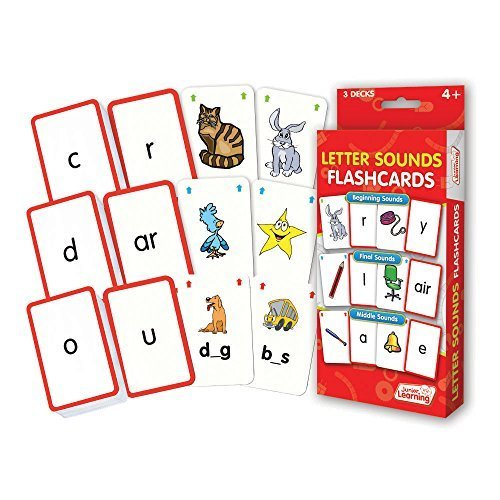 Junior Learning Letter Sound Flash Cards