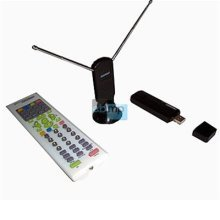 USB DVB-T Stick TC Receiver and Recorder with Dual Antenna