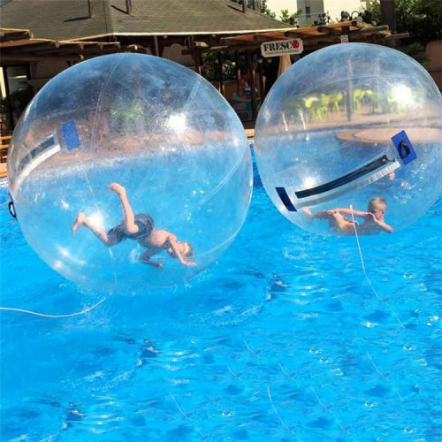 1.8M 6ft inflatable Jump On Water Pool Rolling Walking Toys Dance Ball