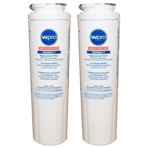 2 x Maytag Fridge Water Filter Replacement UKF8001/1