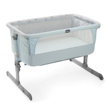 Chicco Next 2 Me Side-sleeping Crib - Sky