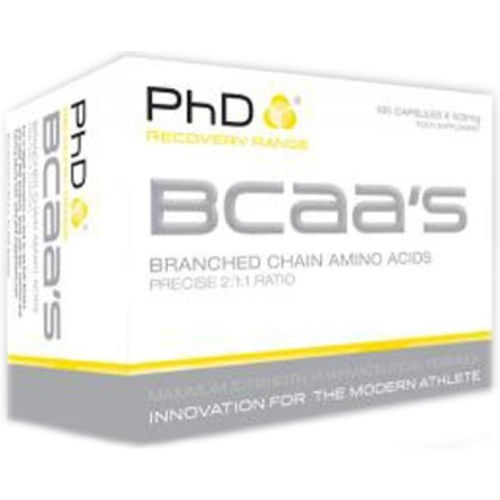 Phd Nutrition Bcaa's 500mg 195 Capsules