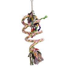 Beeztees Spiral Bird Swing for Lovebirds Cotton 15x70 cm 5167